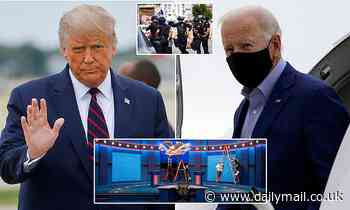 Presidential Debate 2020: Trump and Biden arrive in Cleveland