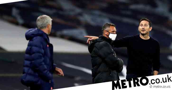 Frank Lampard explains touchline spat with Jose Mourinho after Chelsea's loss on penalties to Tottenham in Carabao Cup