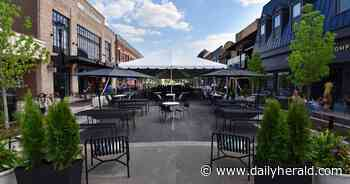 Wheaton stretching outdoor dining through year's end, with heated tents