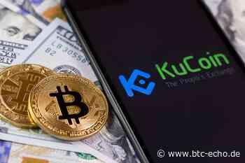 Bitcoin-Börse KuCoin: Hacker erbeuteten womöglich 280 Millionen USD - BTC-ECHO | Bitcoin & Blockchain Pioneers