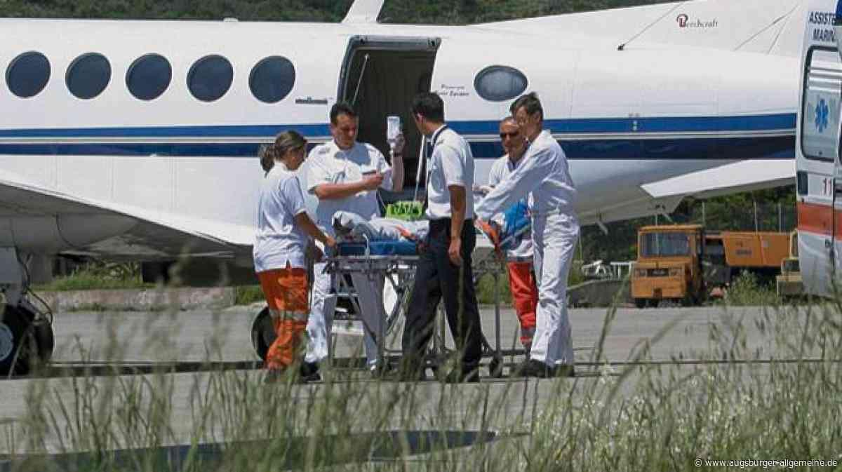 Nach Unfall: BRK holt Fördermitglied heim