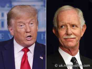 Captain Sully stars in stirring anti-Trump ad: 'Vote him out'