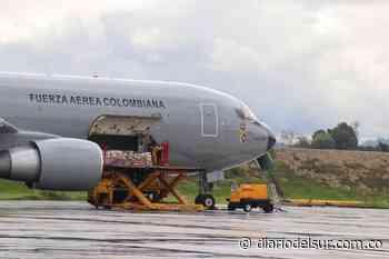 Ayudas humanitarias del programa Adulto Mayor fueron transportadas a Puerto Inírida - Diario del Sur