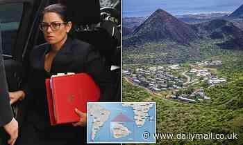 Priti Patel 'looked at sending asylum seekers to tiny volcanic islands'