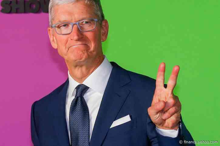 Apple grants CEO Tim Cook first major stock package since 2011
