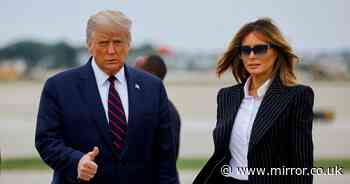Donald Trump and Joe Biden arrive in Cleveland ahead of US Election debate
