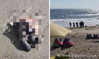 Horror as a human FOOT is found on a popular Bali beach