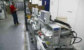 Coronavirus UK: Thousands of ventilators bought at peak never used