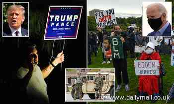 US Presidential Debate 2020: Protesters take to streets of Cleveland