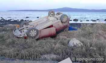 Tres heridos graves deja volcamiento en Puerto Natales: se investiga posible influencia del alcohol como causa - El Pingüino