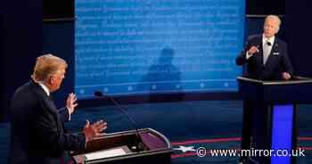 Joe Biden brands Donald Trump a 'clown' and tells him to 'shut up'