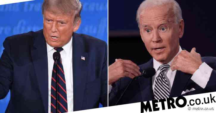 Joe Biden tells Donald Trump he's the worst president America's ever had during tax row