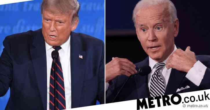 Joe Biden tells Donald Trump he's the worst president America's ever had during tax row