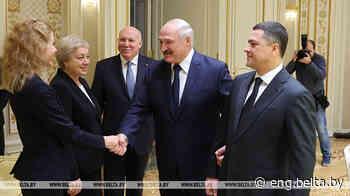 Lukashenko to Pskov Oblast governor: Economic progress relies on good relations - Belarus News (BelTA)