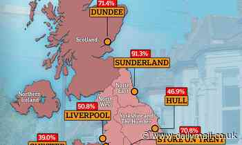 Sunderland, Dundee and Stoke On Trent see the sharpest rise in housing transactions - Daily Mail