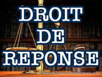 Droit de réponse de Marie-Hélène Amiable, Maire de Bagneux - Opinion Internationale