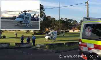 Boy in serious condition after he was hit by a reversing car in his driveway on NSW Central Coast