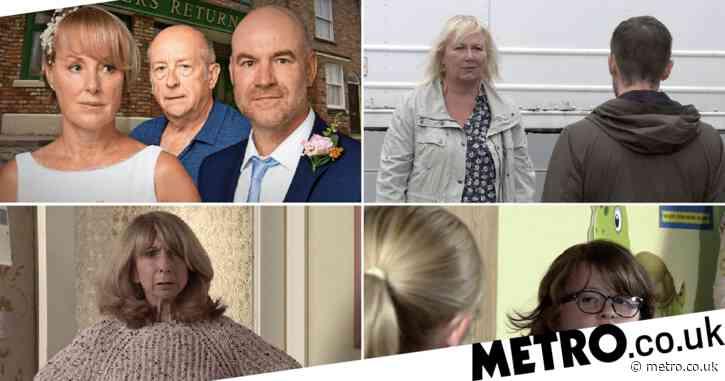 Coronation Street spoilers: Geoff's wedding revenge, devastation for Leanne and three returns