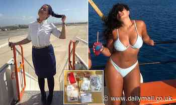 Air hostess, 27, is jailed for 28 months after turning to cocaine dealing