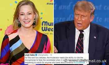 Leigh Sales says presidential debate was 'utterly despairing'