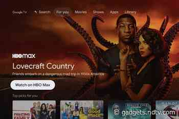 Google Chromecast With Google TV Available to Buy in the US Before Official Launch, Features and New Interface Revealed