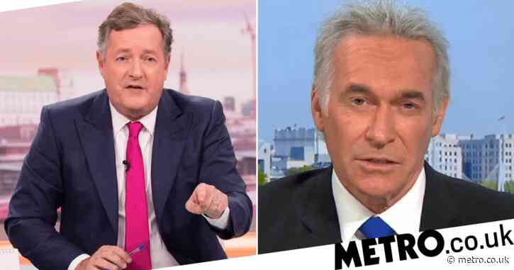 'Stop defending this clown!' Piers Morgan clashes with Dr Hilary Jones over 'bumbling fool' Boris Johnson