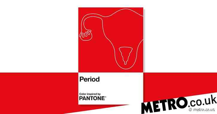 Pantone launches new shade of red inspired by periods to tackle menstruation shame