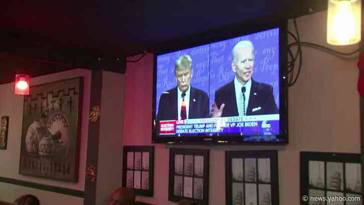 Trump supporters declare president clear debate winner