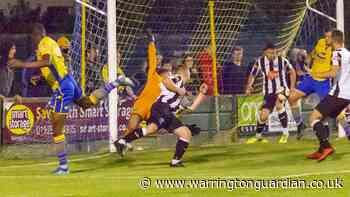 Warrington Town 2 Atherton Collieries 0, Northern Premier League