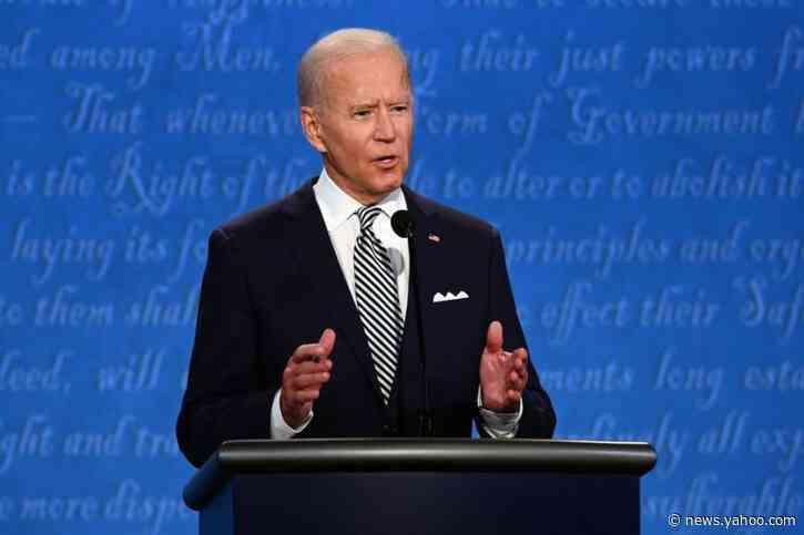 Despite hopeful speculation, Biden campaign says remaining debates are still on