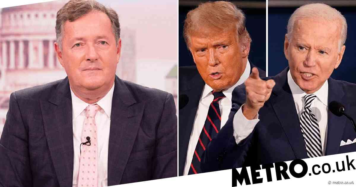 Piers Morgan brands Trump and Biden debate 'trainwreck of epic proportions'