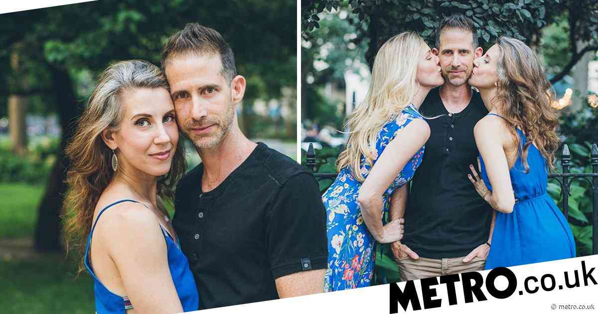 Man ends 19-year marriage to enter polyamorous relationship with two new women