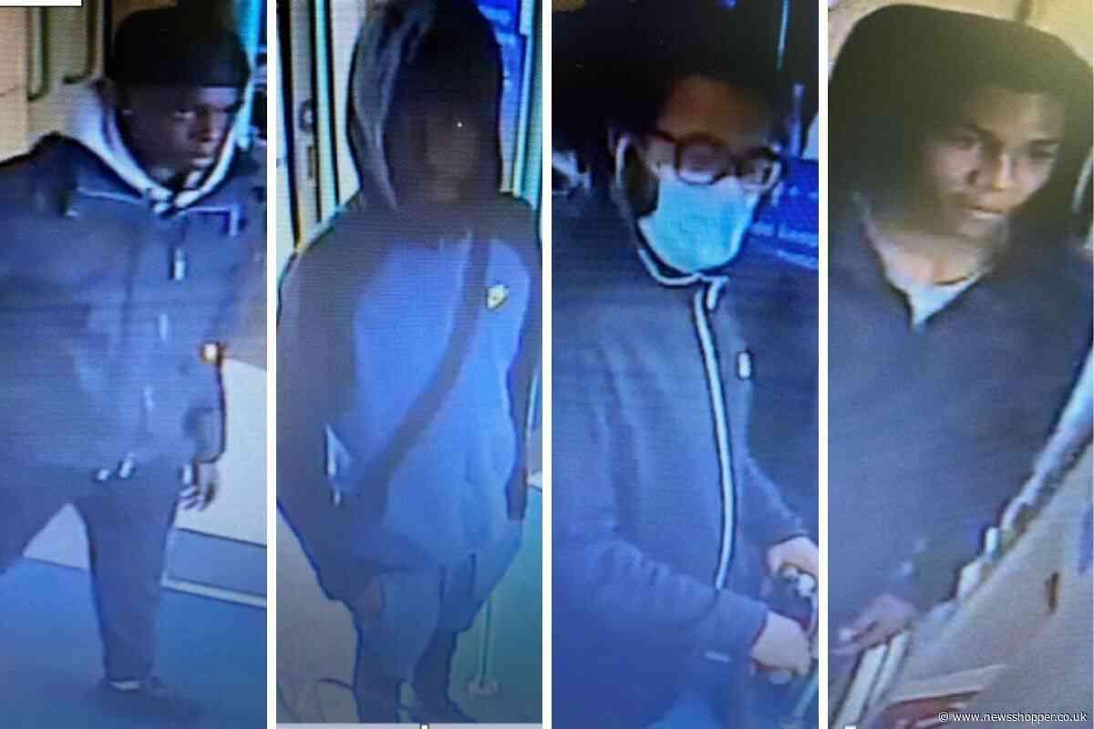 CCTV released after Lewisham DLR machete robberies - News Shopper