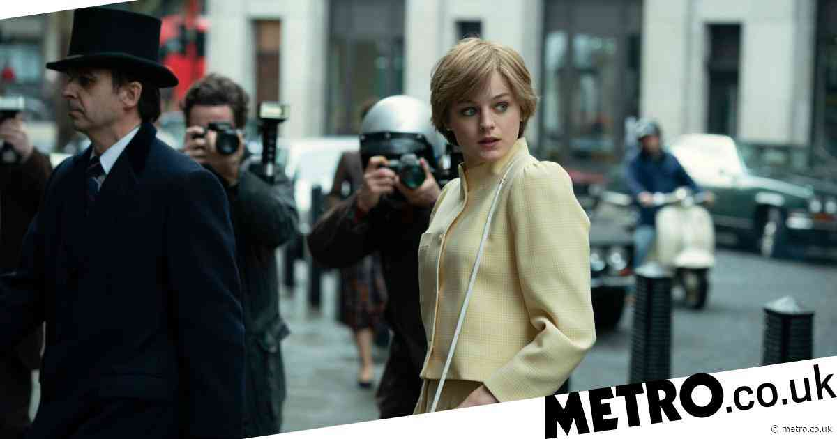 The Crown season 4: Fans spot modern red bus in first-look pictures of Princess Diana