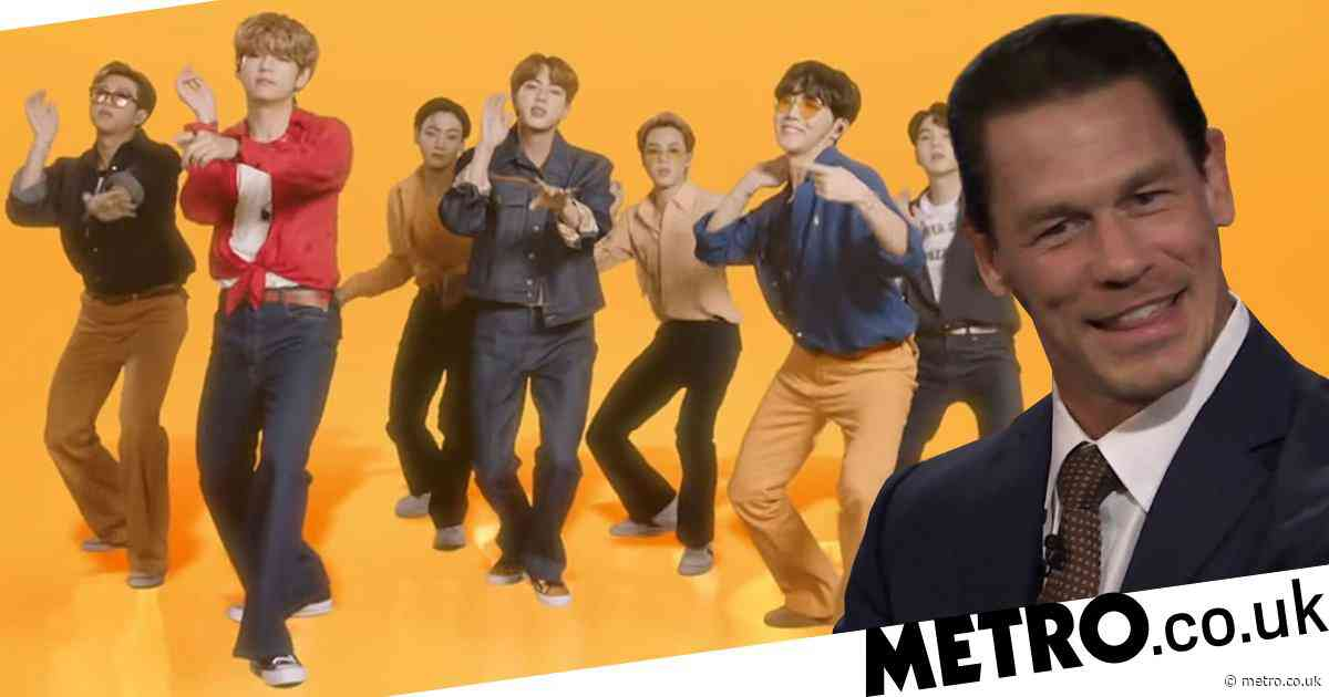 John Cena gets passionate about his faves BTS and ARMY: 'They're not just geeked out fans'