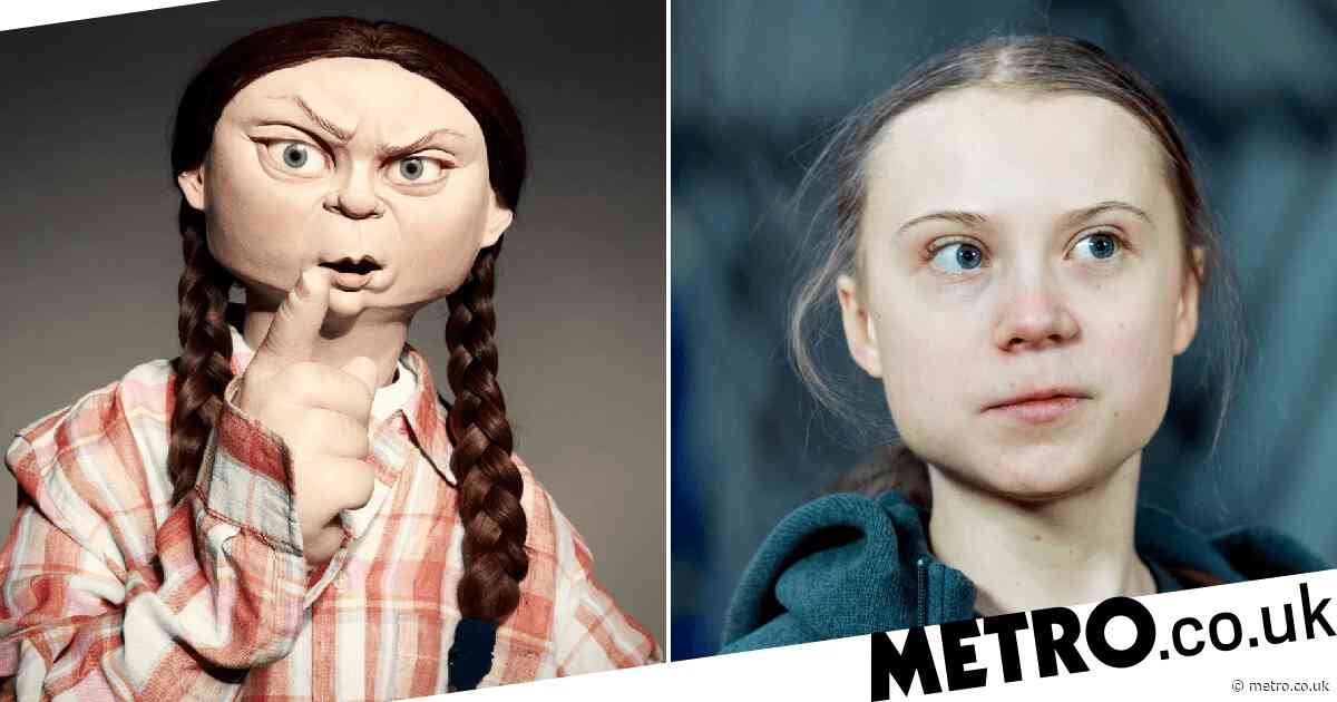 Spitting Image defend Greta Thunberg puppet following backlash
