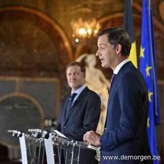 Live - Premier Alexander De Croo: 'Dit akkoord is een resultaat van teamwork'