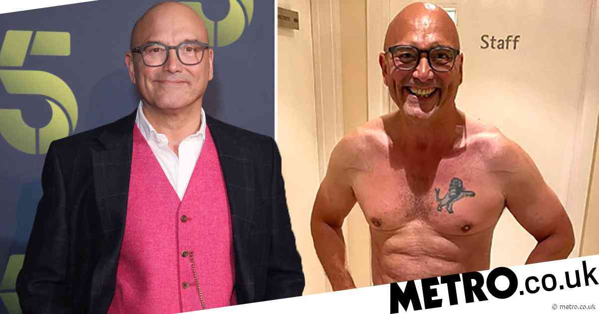 MasterChef star Gregg Wallace reveals he lost four stone so his wife, 34, didn't have a 'fat, old husband'