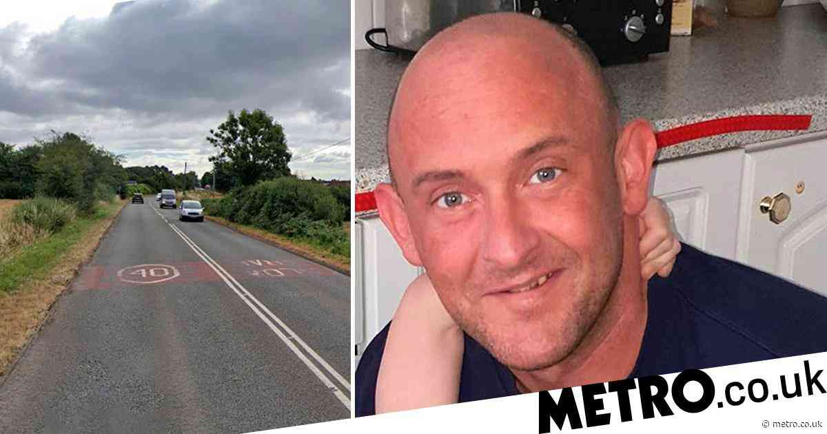 Cyclist killed by Audi driver 'high and tired after partying with sex workers'