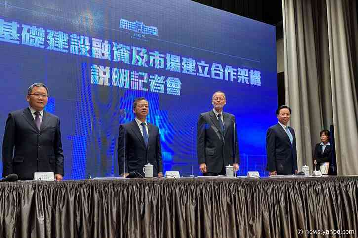 U.S., Taiwan to team up on infrastructure in pushback against China