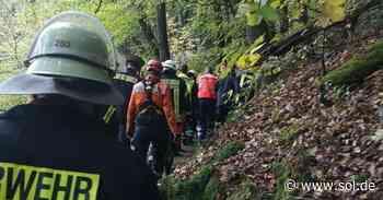 Saarschleife: Wanderer stürzt auf Cloefpfad in Mettlach-Orscholz - große Rettungsaktion mit Hubschrauber - sol.de