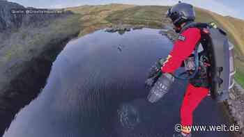 Ungewöhnliche Hilfe aus der Luft – Bergrettung mit dem Jetsuit