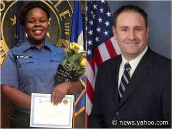 The family of one of the officers who killed Breonna Taylor started an online fundraiser so he can retire early and focus on his 'safety'