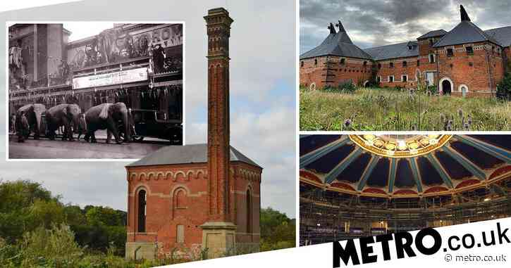 Circus theatre and first lager brewery among UK's 'most endangered' buildings