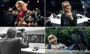 Never-before-seen photos taken by Paul Weller's bandmate