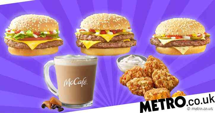 McDonald's launches new menu with Spicy Quarter Pounder and Salted Caramel Lattes