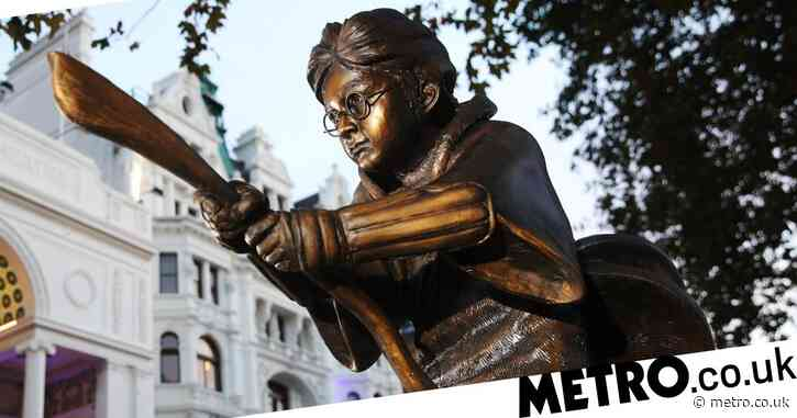 Harry Potter statue being unveiled in Leicester Square is the best thing to happen to 2020