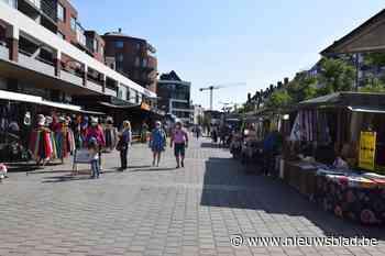 Dinsdagmarkt verhuist gedeeltelijk wegens werken aan Oude Kaaibrug<BR />