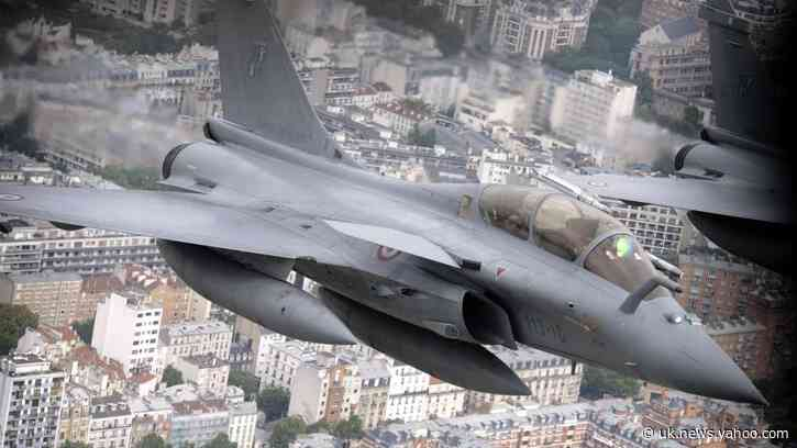 Sonic boom from fighter jet on a rescue mission rattles Parisians, disrupts French Open
