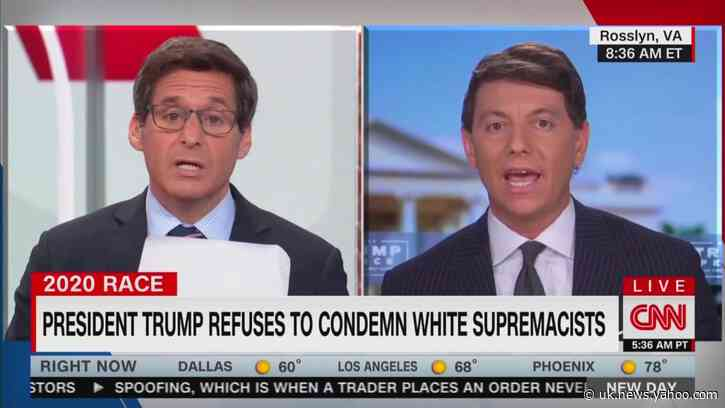 Trump Spokesman Ridiculously Claims Trump Condemned Right-Wing Extremism Three Times